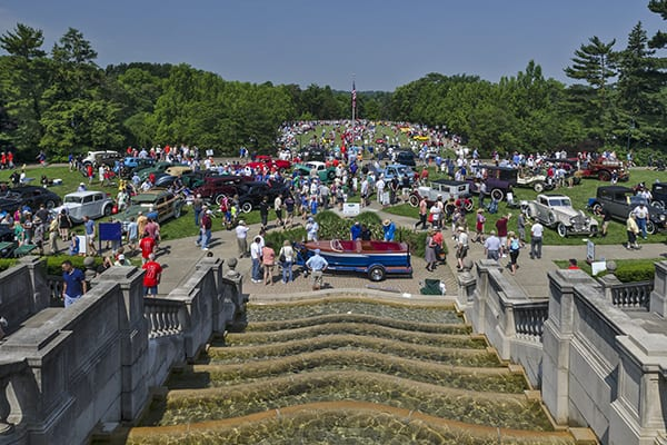 View of the 2016 Concours d'Elegance
